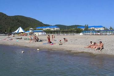 """фото Пляж, База отдыха """"Архипо-Осиповка"""", Геленджик"""