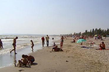"фото пляж, База отдыха ""Черноморец"" (Гудаута), Абхазия"