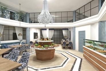 """фото Ресторан, Отель """"Белый песок"""", Анапа"""