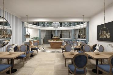 """фото Ресторан2, Отель """"Белый песок"""", Анапа"""