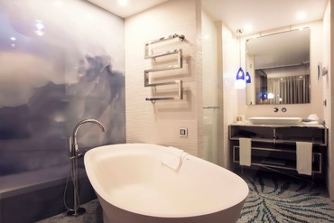 "фото Санузел, Отель ""Paragraph Resort & Spa Shekvetili/ Параграф"", Грузия"