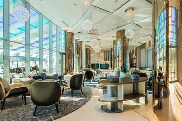 "фото Лобби, Отель ""Paragraph Resort & Spa Shekvetili/ Параграф"", Грузия"
