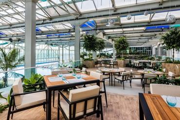 "фото Ресторан, Отель ""Paragraph Resort & Spa Shekvetili/ Параграф"", Грузия"