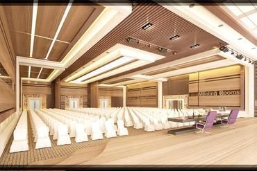 """фото Конференц зал, Отель """"Euphoria Hotel Batumi/ Эйфория"""", Грузия"""
