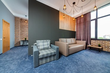 "фото Junior Suite 3-местный LV, Отель ""Beton Brut"", Анапа"
