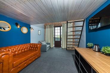 "фото Deluxe Mini Duplex+terrace SSV 2-местный, Отель ""Beton Brut"", Анапа"