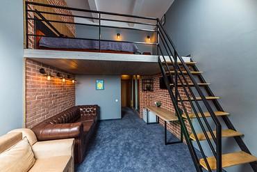 "фото Superior Mini Duplex LV 2-местный, Отель ""Beton Brut"", Анапа"