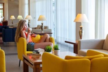 "фото лобби, Отель ""Faros Hotel 4*"", Айя-Напа"