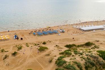 """фото пляж, Пансионат """"Одиссея"""", Анапа"""