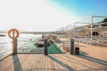 """фото пляж, ALEAN FAMILY RESORT & SPA BIARRITZ / Биарриц отель (бывш. """"Сосновая роща""""), Геленджик"""