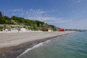 """фото Пляж, Курортный отель """"Orchestra Crystal Sochi Resort """", Сочи"""