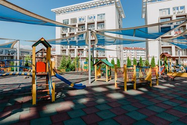 "фото Площадка, Отель ""Бридж Резорт"", Сочи"