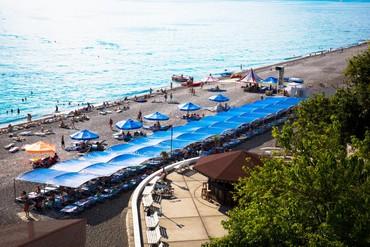 "фото Пляж, Пансионат ""АкваЛоо"", Сочи"