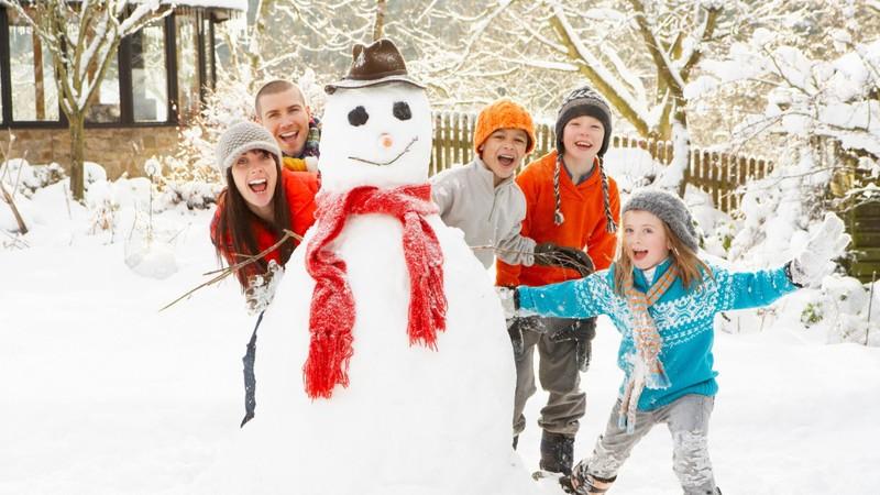Новый год и зимние каникулы с детьми