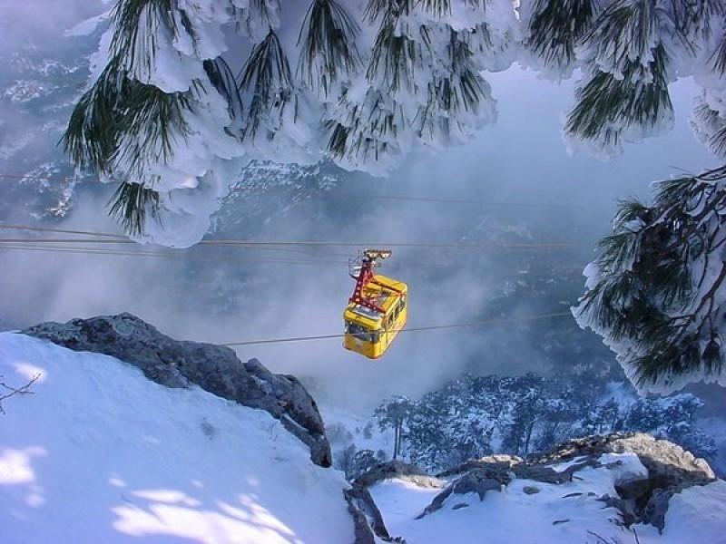 Зимний отдых в горах Крыма