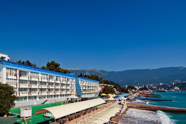 """фото пляж, Отель """"Левант"""", Ялта"""