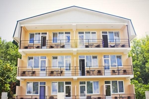 """фото общий вид, Отель """"Ницца"""", Ялта"""