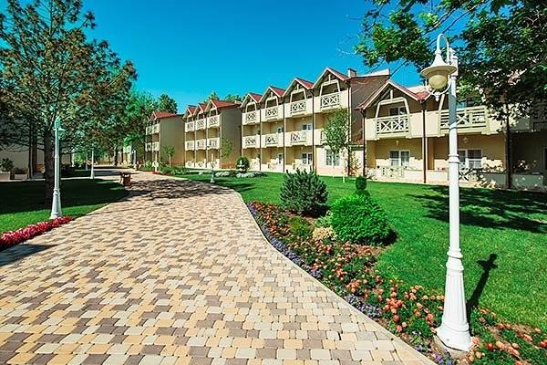 """фото главное, ALEAN FAMILY RESORT & SPA DOVILLE отель (бывш. """"Довиль Отель & SPA"""" SPA-Отель), Анапа"""