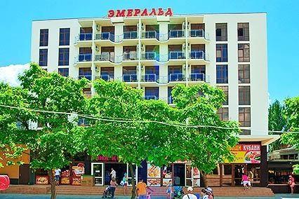 """фото Внешний вид, Гостиничный комплекс """"Эмеральд """", Анапа"""