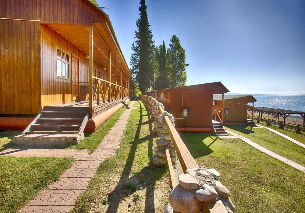 """фото общий вид, Курортный комплекс """"Камарит"""", Абхазия"""