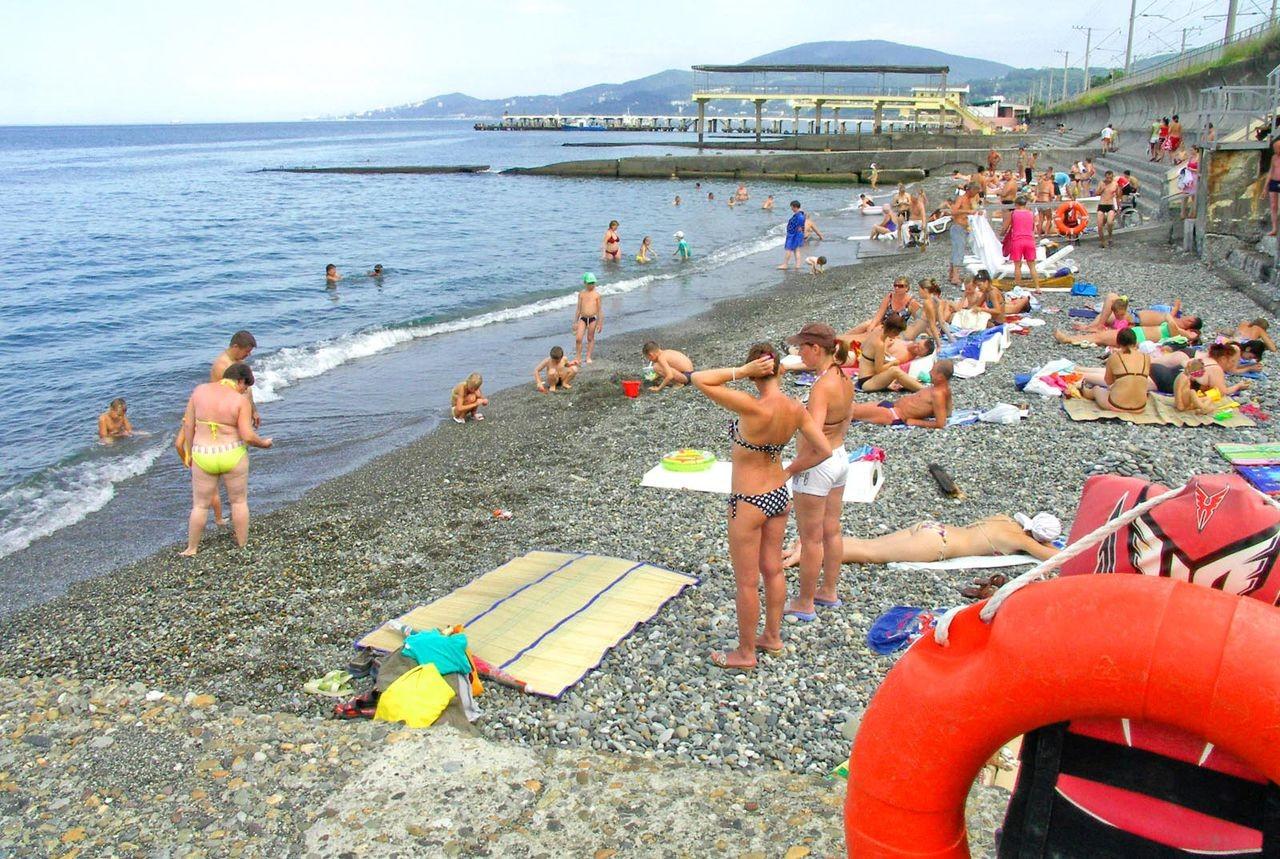 Санаторий известия фото пляжа
