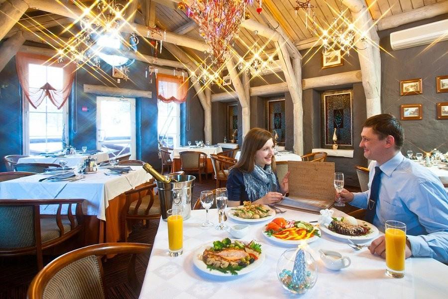 Ресторан эко-отеля «Эхо»