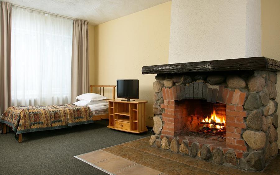 Люкс 2-комнатный с камином