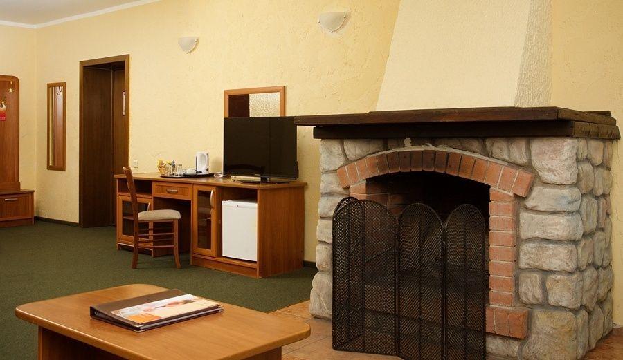 Люкс 1-комнатный с камином