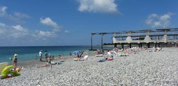Пансионат литфонд пляж 100