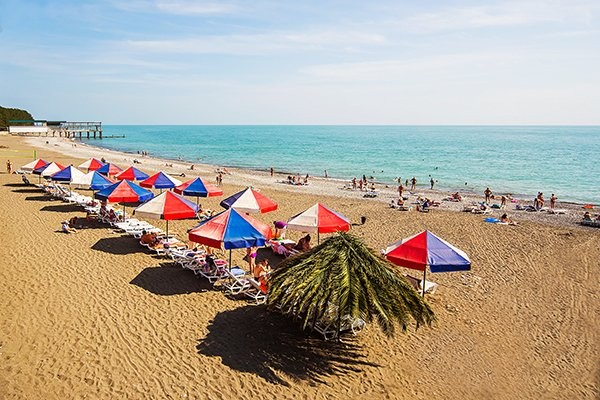 Пансионат литфонд пляж 26
