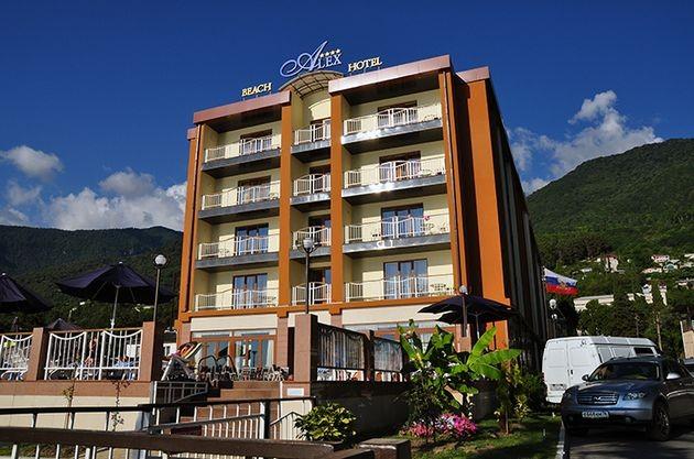 """фото Отель, Отель """"Alex Beach Hotel"""", Абхазия"""