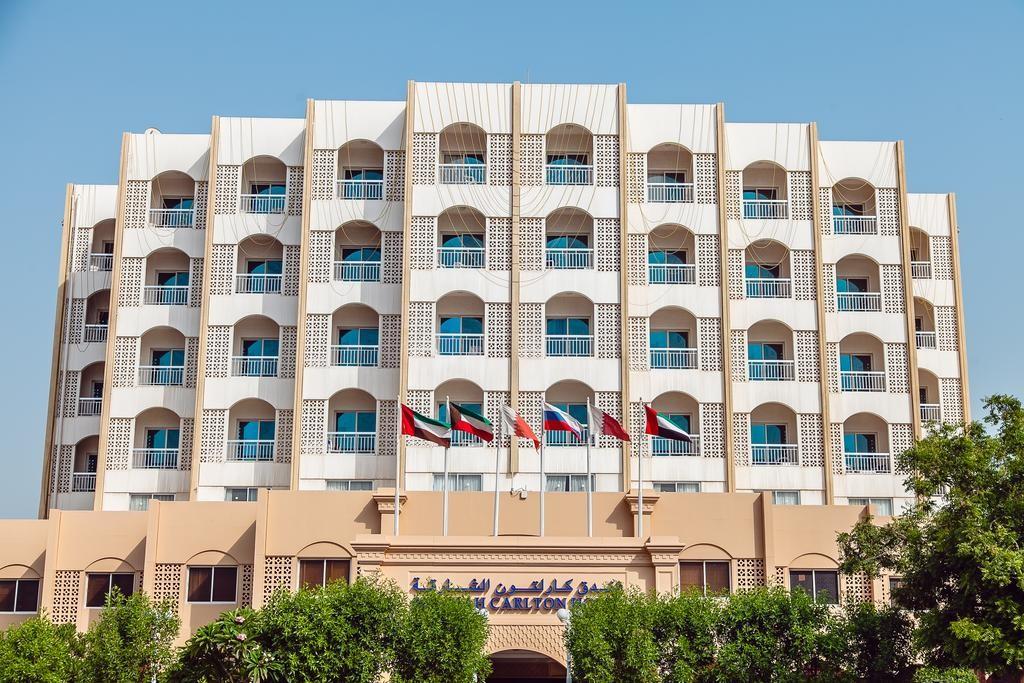 "фото Главный вид, Отель ""Sharjah Carlton Hotel"" 4*, Шарджа"