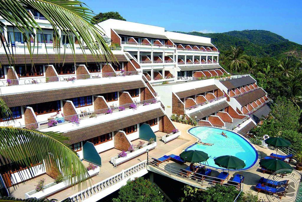 """фото Главный вид, Отель """"Best Western Ocean Phuket"""" 3*, Пхукет"""