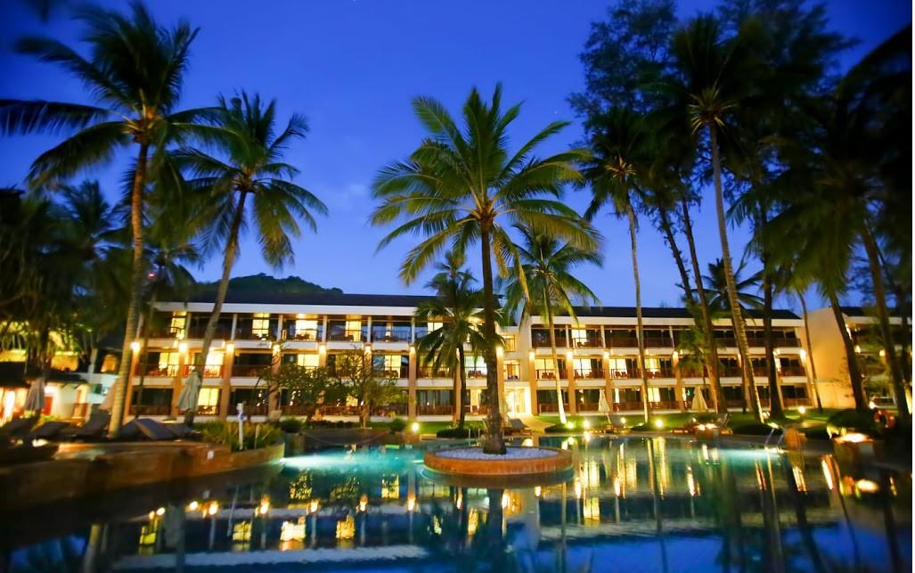 """фото Главный вид, Отель """"Kata Thani Phuket Beach Resort"""" 5*, Пхукет"""