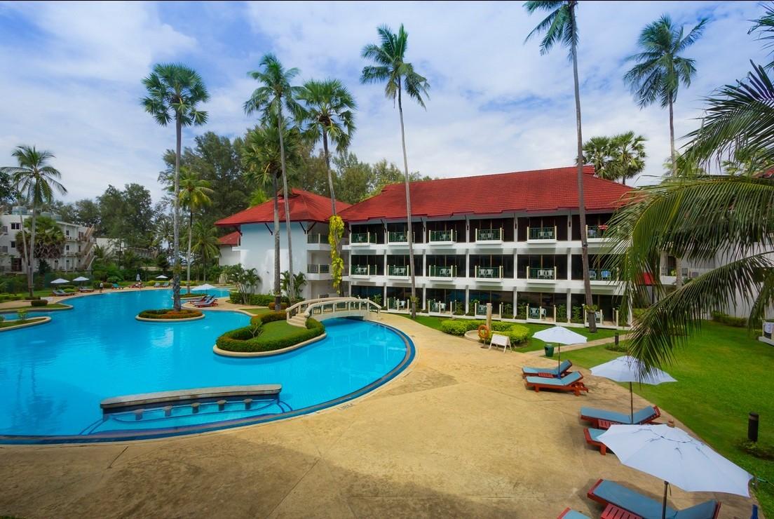 """фото Главный вид, Отель """"Amora Beach Resort"""" 4*, Пхукет"""