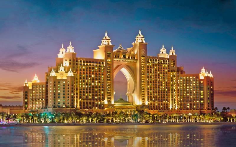 """фото Главный вид, Отель """"Atlantis The Palm"""" 5*, Дубай"""
