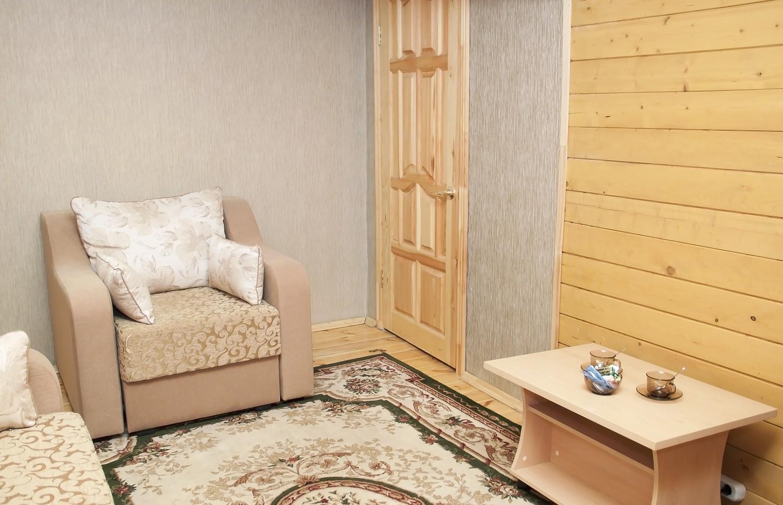 Люкс 3-комнатный с гидромассажем  №10 (Корпус Изба)