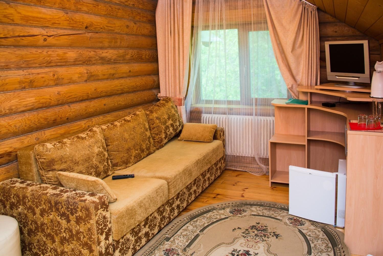 Люкс 3-комнатный с гидромассажем  №9 (Корпус Изба)
