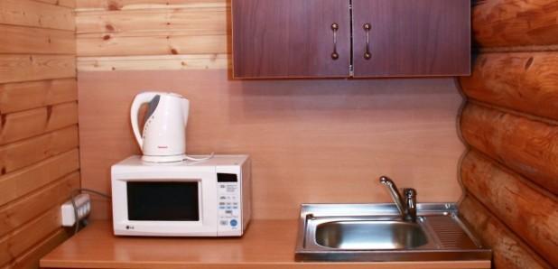 Апартаменты 3-комнатные 4-местные с кухней на 2 этаже (Коттеджи № 1, 2, 3)
