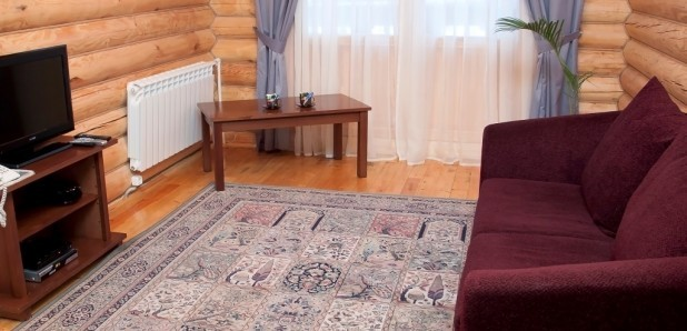 Люкс 2-комнатный №1, 3 с гидромассажем (Коттедж №5. 6)