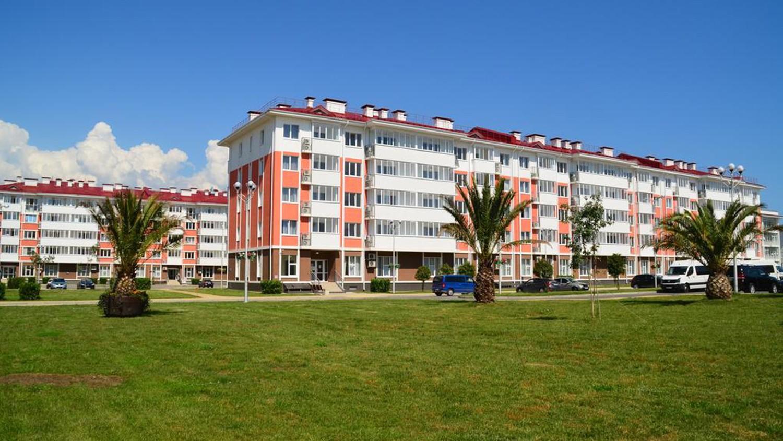 """фото Фасад, Отель Екатерининский квартал, """"Бархатные сезоны"""", Сочи"""