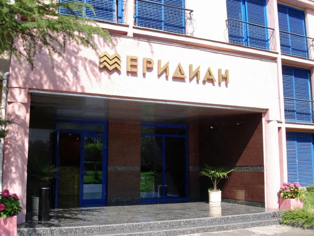 """фото Фасад, Отель """"Меридиан"""", Сочи"""